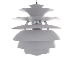White Wes E27 pendant lamp small 3