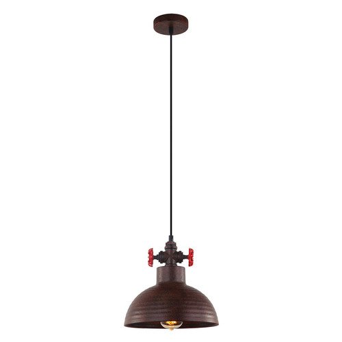 Copper Pendant Lamp Scrulo E27