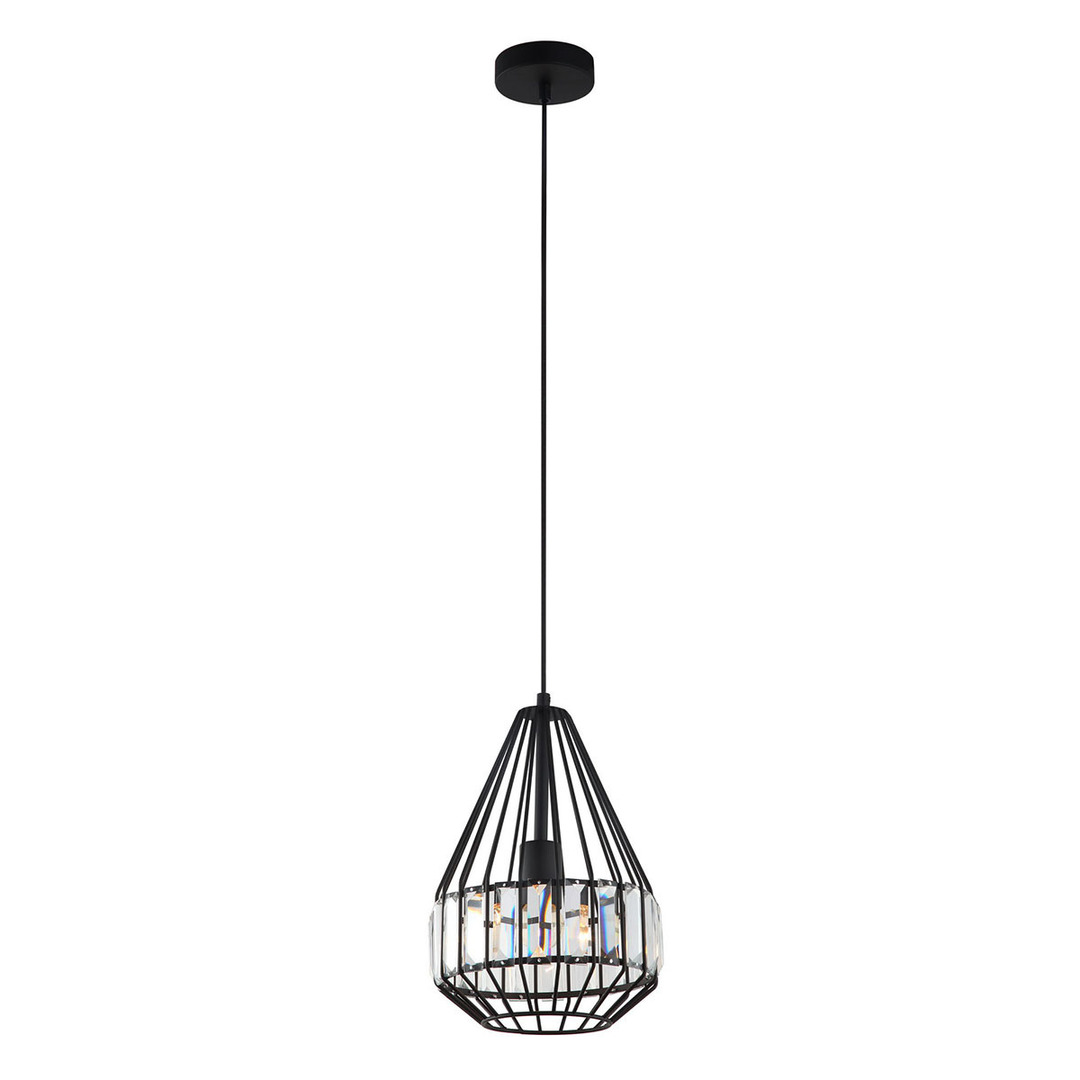Black Hanging Lamp Brenta E27