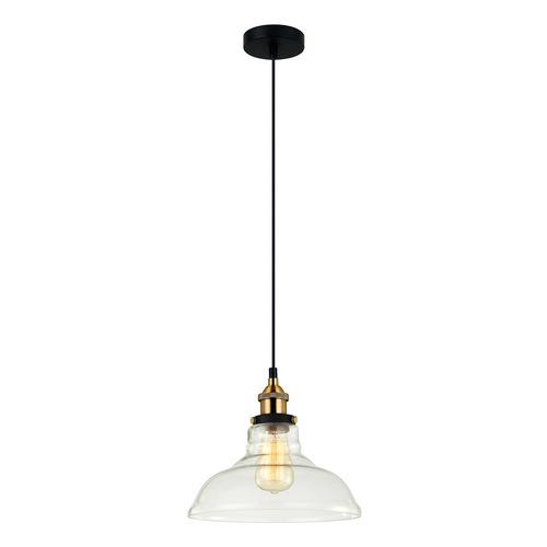 Black Hanging Lamp Hubert E27