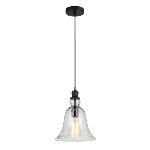 Black Hanging Lamp Irene E27
