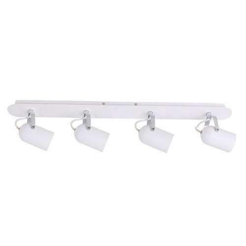 White Modern Spotlight Lumen GU10 4-point