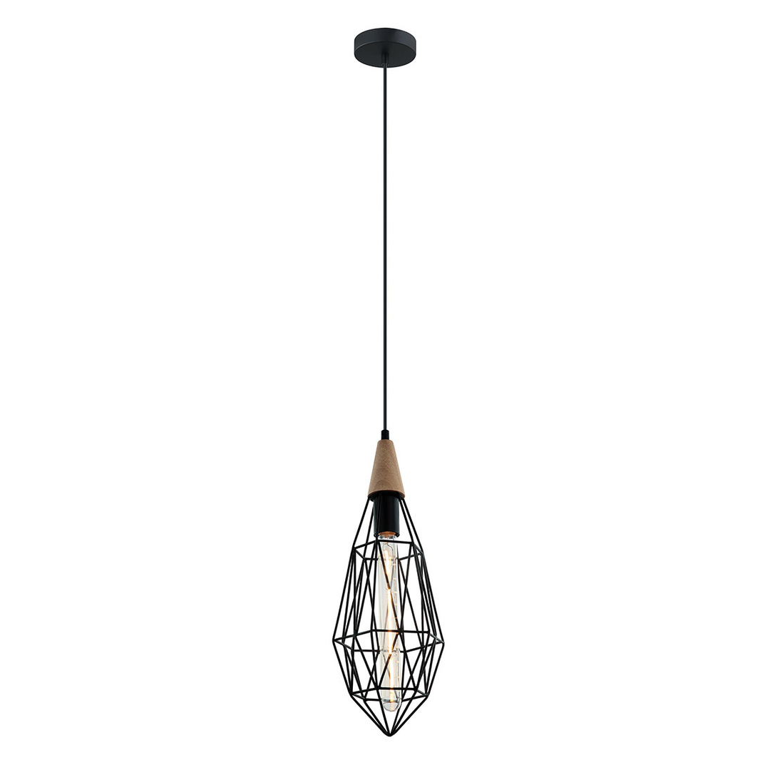Black Hanging Lamp Maelle E27