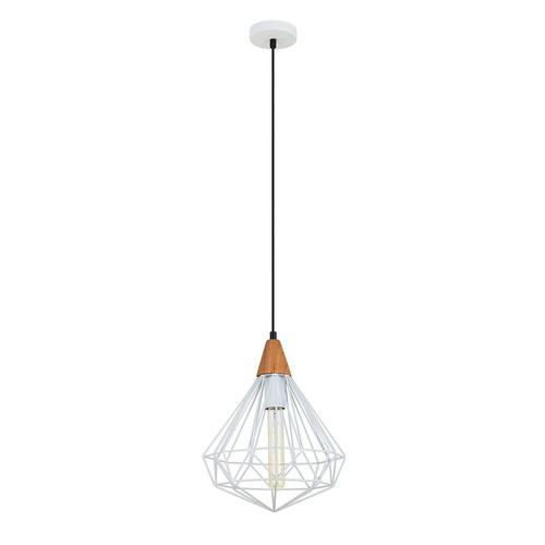 White Hanging Lamp Maelle White E27