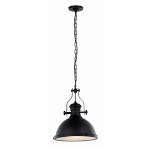 Black Hanging Lamp Maeva E27 small 2