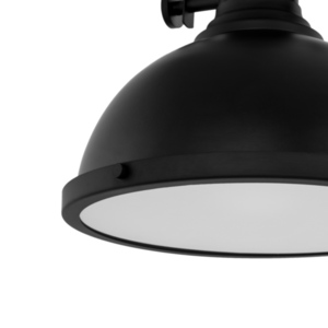 Black Hanging Lamp Maeva E27 small 4