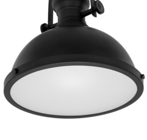 Black Hanging Lamp Maeva E27 small 5
