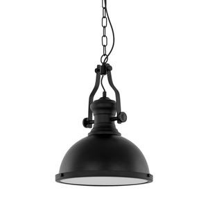 Black Hanging Lamp Maeva E27 small 0