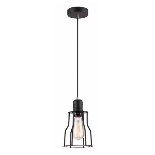Black Moshi E27 Hanging Lamp