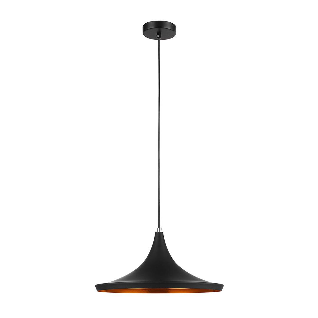 Black Pedro E27 Hanging Lamp