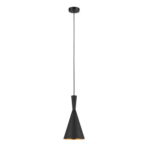 Black Pendant Lamp Pedro E27, 2-bulb