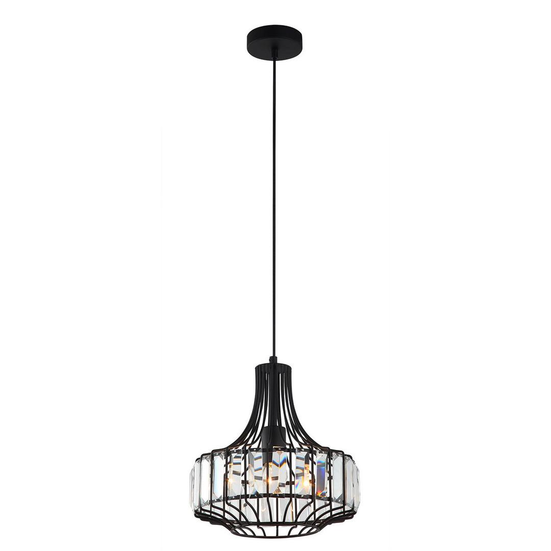 Black Hanging Lamp Sawin E27