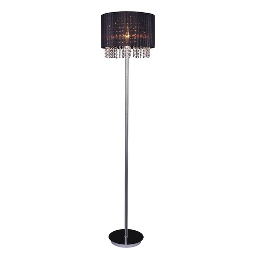 Black Astra BK E27 Floor Lamp