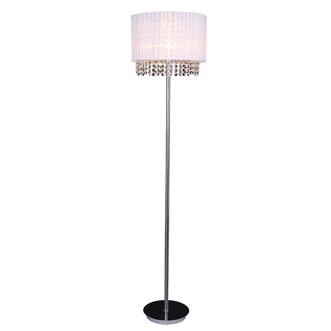 Astra WH E27 White Standing Lamp