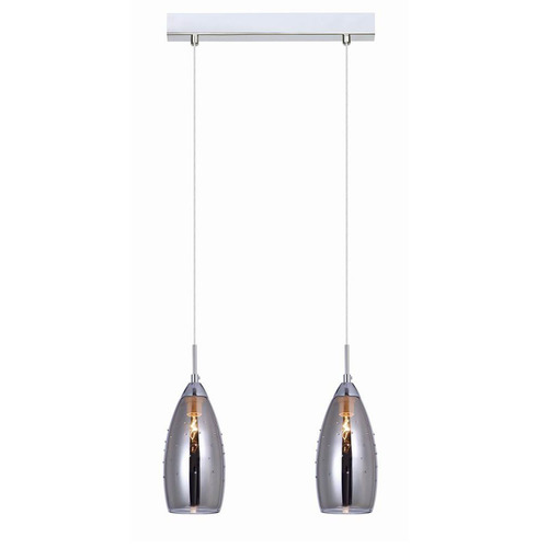 Modern Hanging Lamp Grace E14 2-bulb