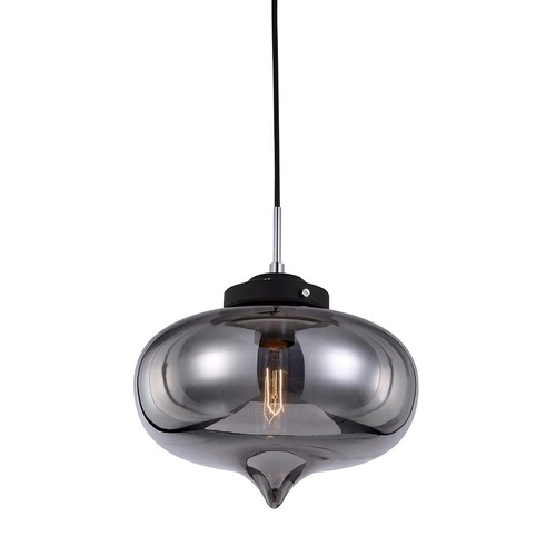 Black Hanging Lamp Heart E27