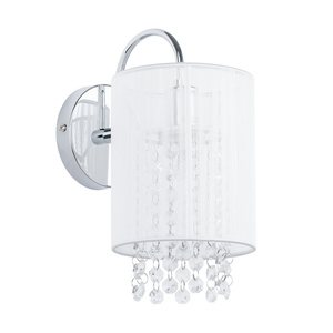 White Wall lamp Lana WH E14 small 1