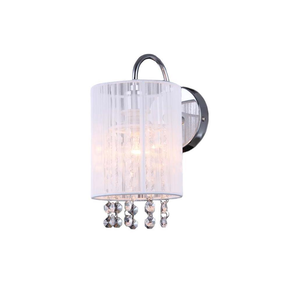 White Wall lamp Lana WH E14