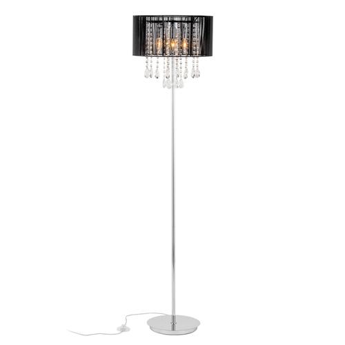 Black Floor Lamp Essence E14 3-bulb