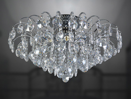 Classic 6-point Firenza Crystals Plafond