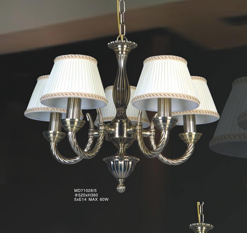 Stylized Hanging Lamp Frati E14 5-bulb