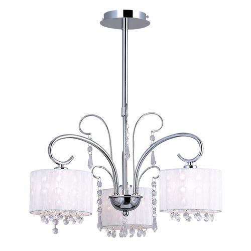 Span E14 3-point ceiling lamp