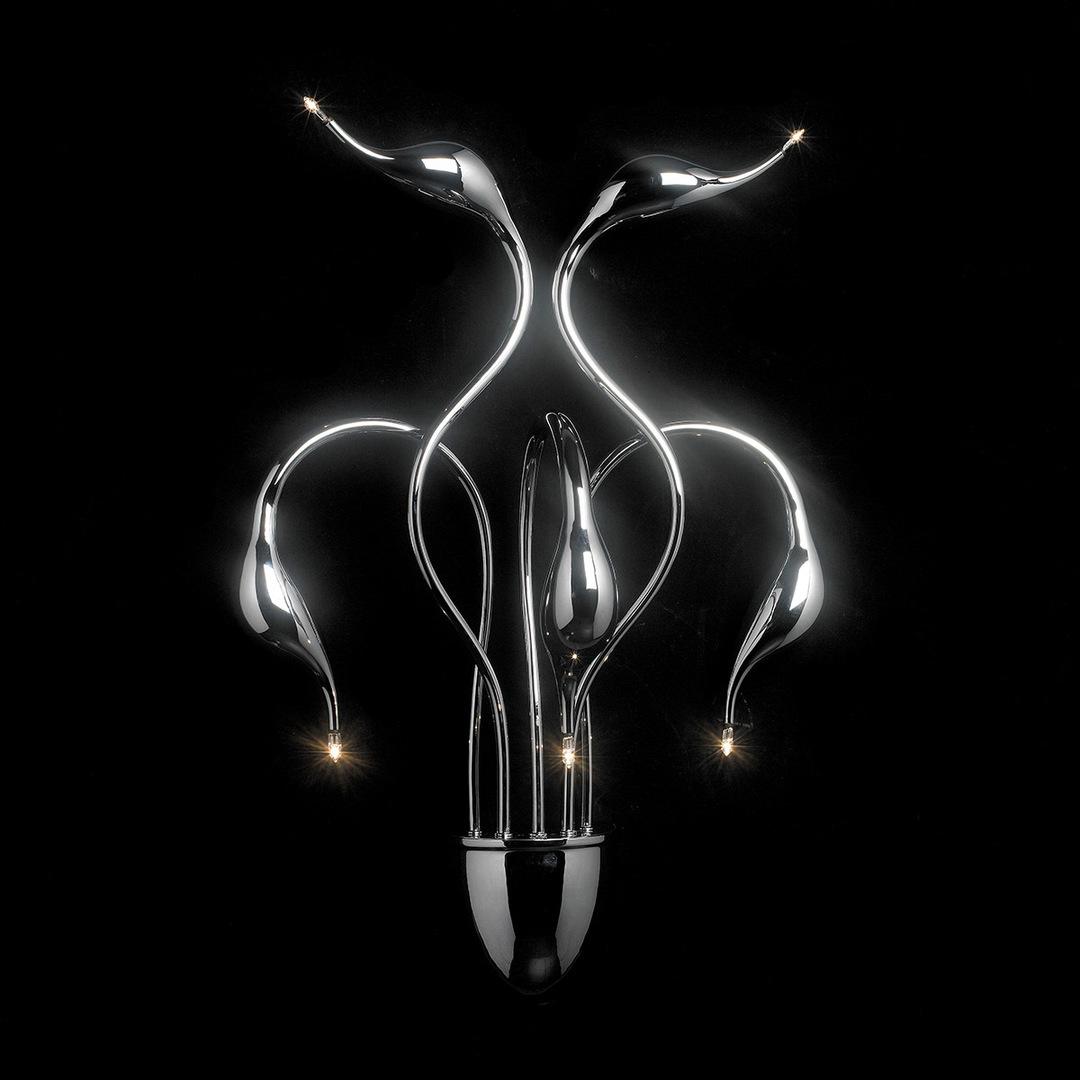 Modern wall lamp Swan G4 5-bulb