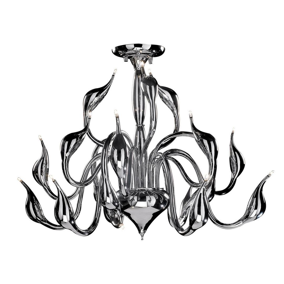 Modern Swan G4 18-point ceiling lamp