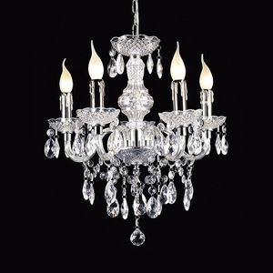 Classic Chandelier with Whiz E14 Crystals, 5-bulb small 0