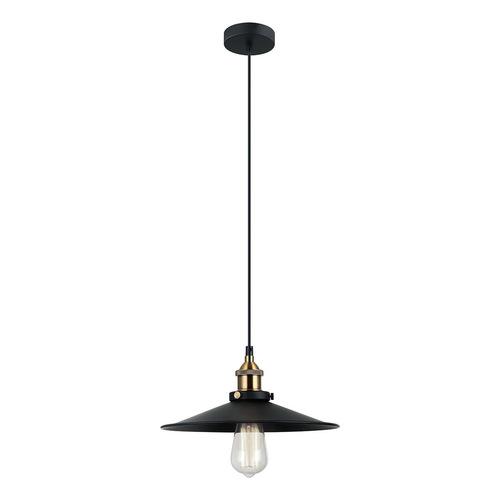 Black Kermio E27 Hanging Lamp