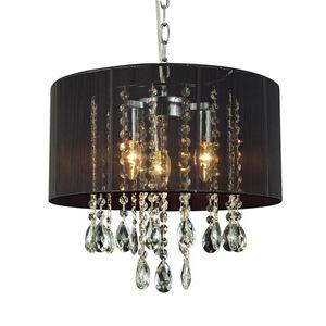Black pendant lamp Essence E14 with 3 lights small 2