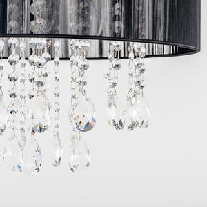 Black pendant lamp Essence E14 with 3 lights small 4