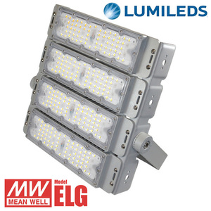 Strong LED floodlight MADOR 200W 4000K small 0