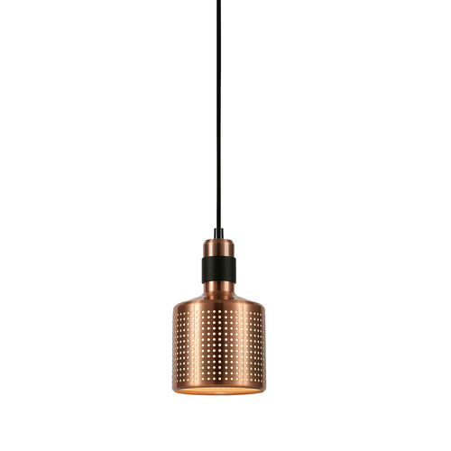 Copper Hanging Lamp Restenza E27