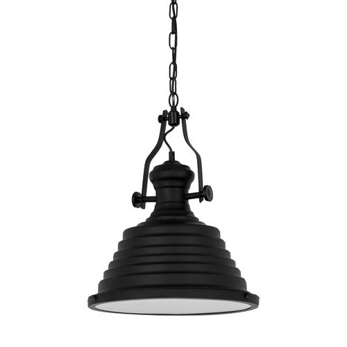 Black Hanging Lamp Maeva E27
