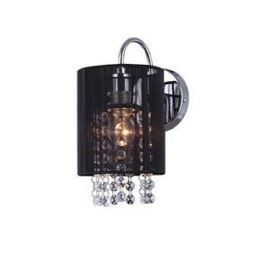 Black Wall lamp Lana BK E14 small 1