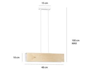 HANGING LAMP CARLO 2 WHITE small 1