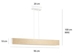 HANGING LAMP CARLO 4 WHITE small 1