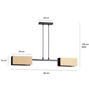 HANGING LAMP ZAPER 2 BLACK small 1