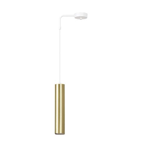 HANGING LAMP GOLDI 1 WHITE / GOLD