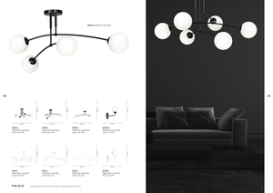 CEILING LAMP PREGOS 4 BLACK small 3