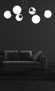 CEILING LAMP PREGOS 6 BLACK small 2