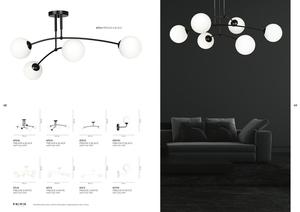 CEILING LAMP PREGOS 6 BLACK small 3