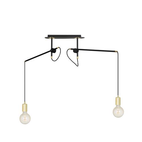 HANGING LAMP ARTEMIS 2 BLACK