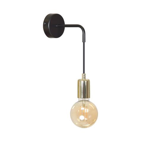 VESIO K1 BLACK WALL LAMP