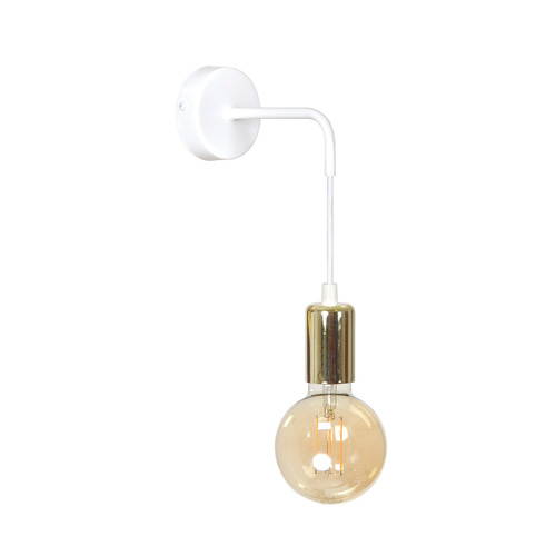 Adjustable wall lamp VESIO K1 WHITE