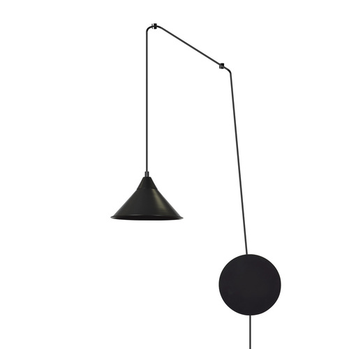 HANGING LAMP ABRAMO 1 BLACK