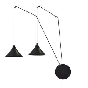 HANGING LAMP ABRAMO 2 BLACK small 0