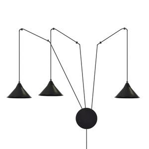 HANGING LAMP ABRAMO 3 BLACK small 0