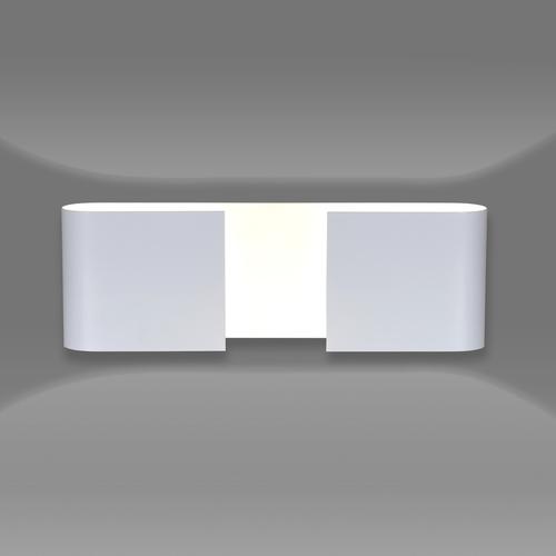 DUO WHITE wall lamp